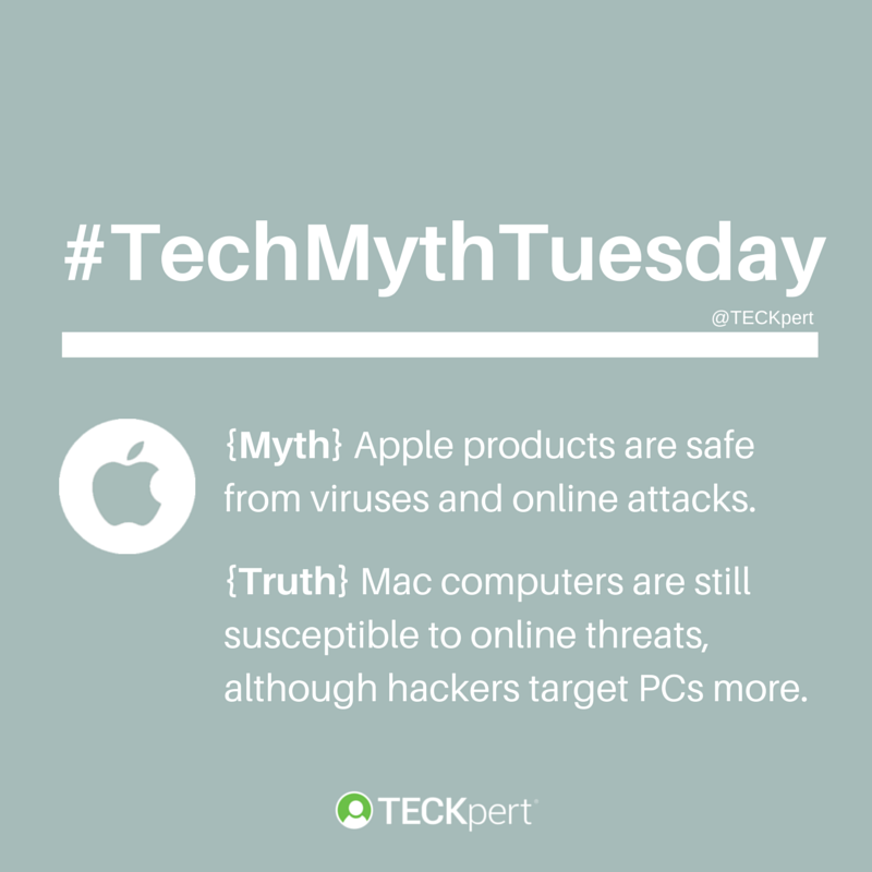 TechMythTuesday - Apple Products Viruses